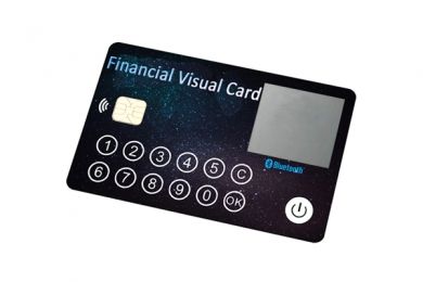 1.02inch PCBA Financial ColdWallet Payment Card